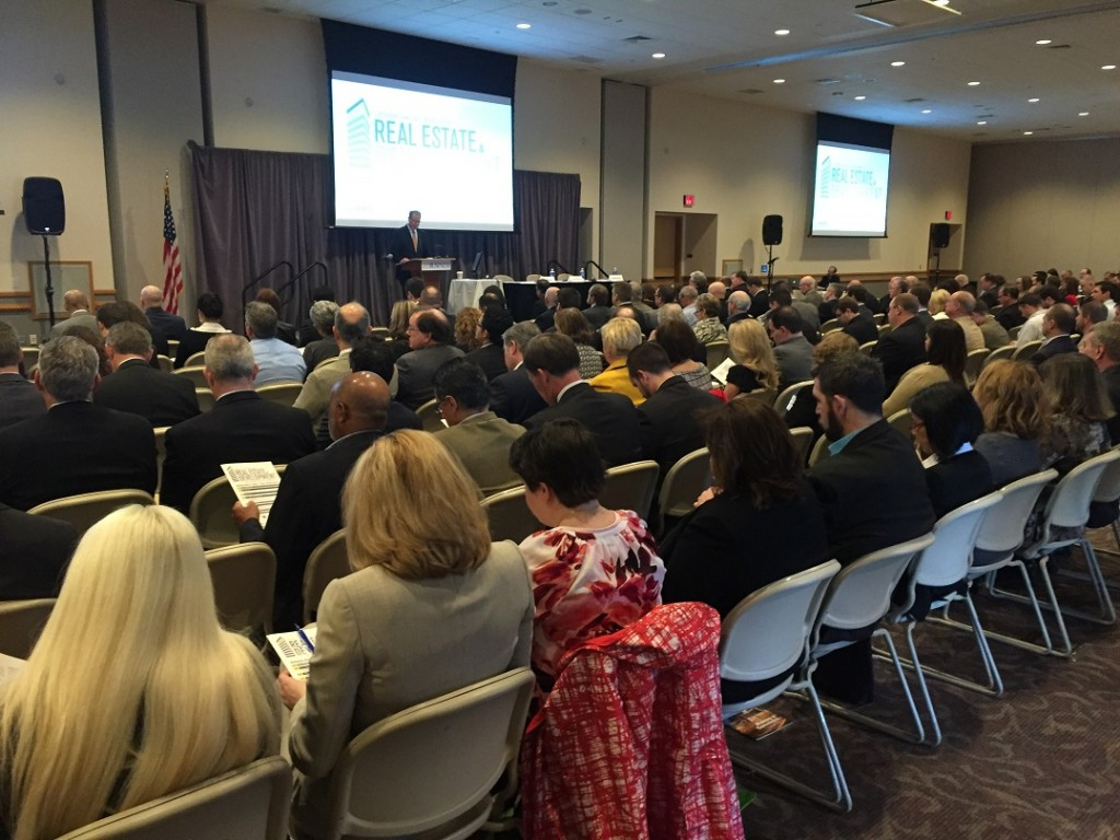 About 500 people attended the Lehigh Valley Business 2016 Real Estate and Development Symposium at DeSales University in Upper Saucon Township.