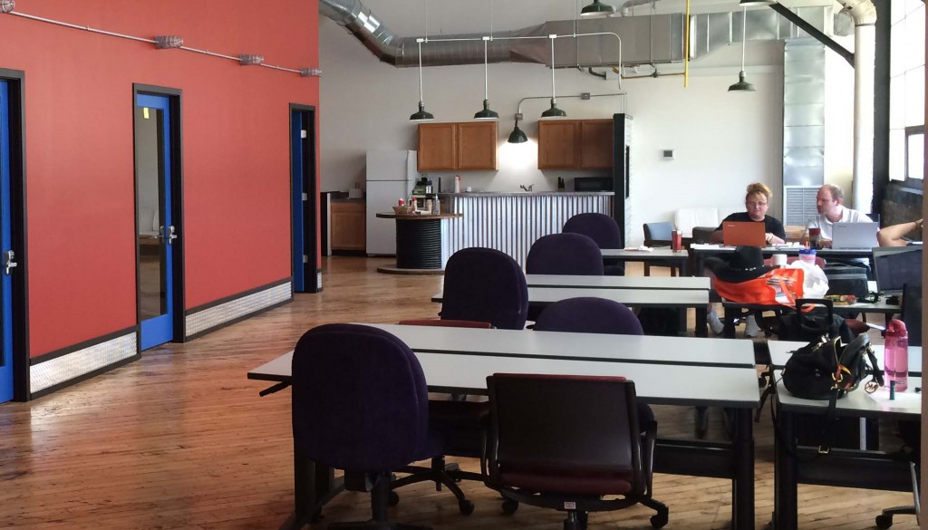 The engineering firm Amorphic Tech is the latest client for the Allentown business incubator Bridgeworks Enterprise Center.
