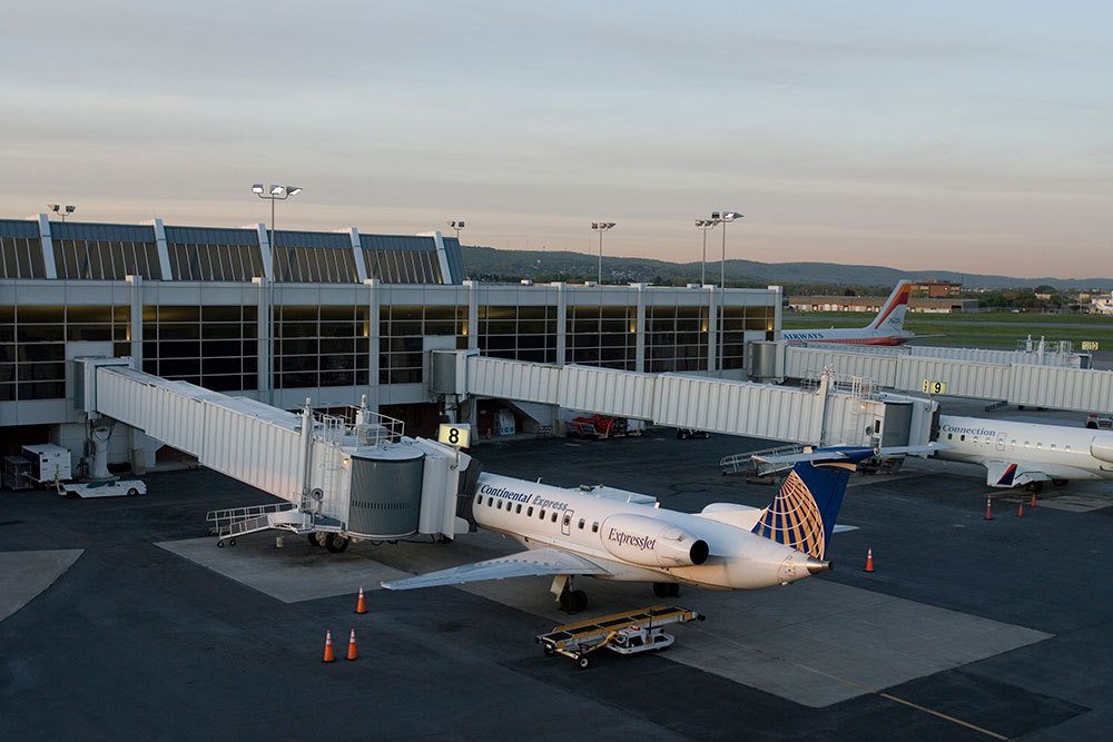 The amount of cargo moved at the Lehigh Valley International Aiurport in 2016 increased by 165.7 percent over the year before.