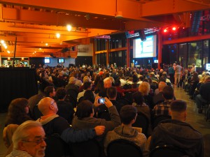 More than 800 people came out to the ArtsQuest Center in Bethlehem on Feb. 28 to hear the winners announced.