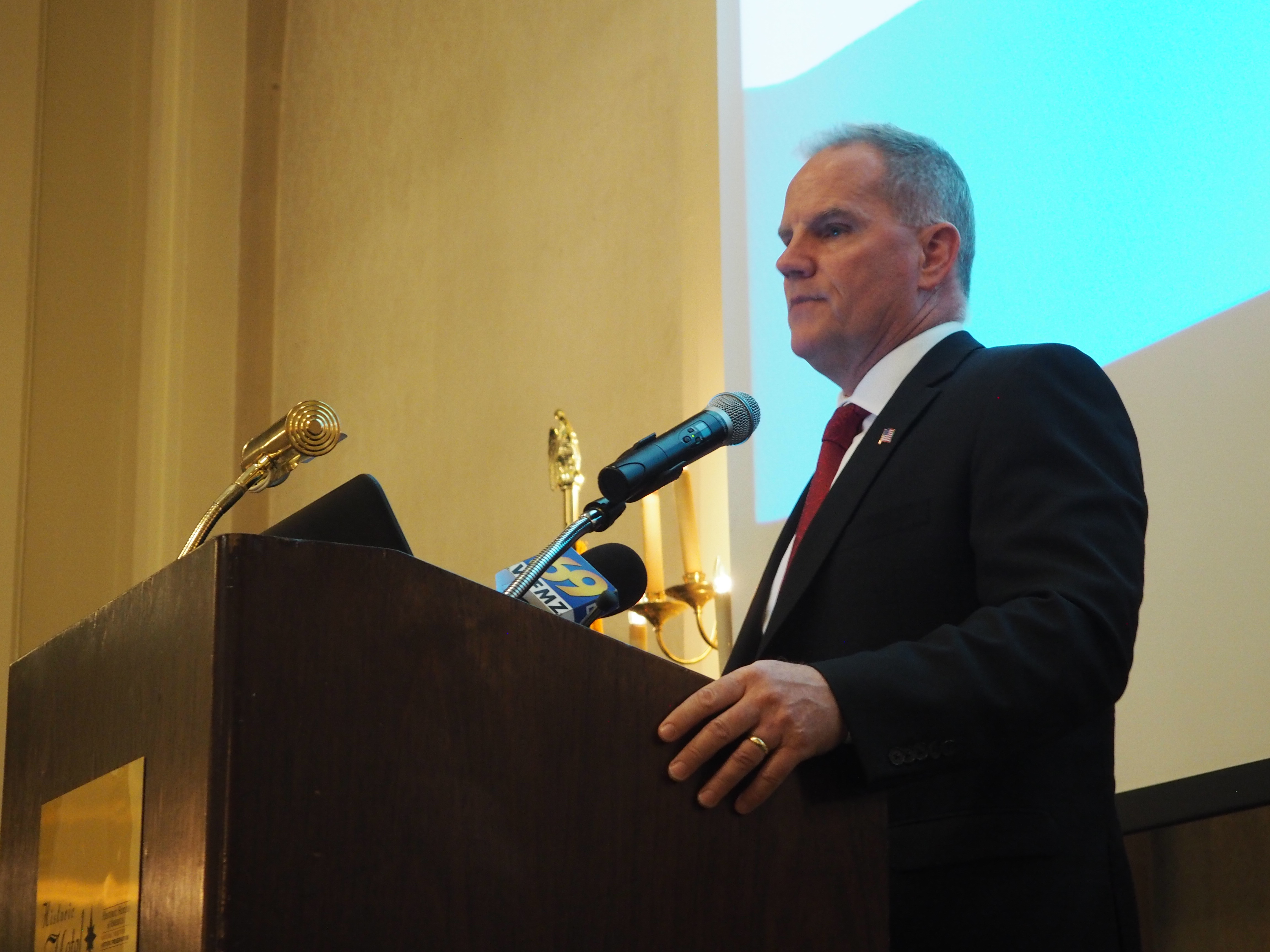 northampton county executive john brown delivers state of the