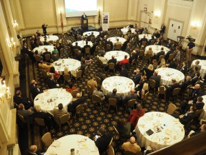 About 140 people attended the 2017 State of Northampton County address.