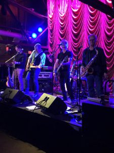 LVEDC President & CEO Don Cunningham (second from left) and his band, Cunningham & Associates, playing at the NAIOP Battle of the Bands in Philadelphia.