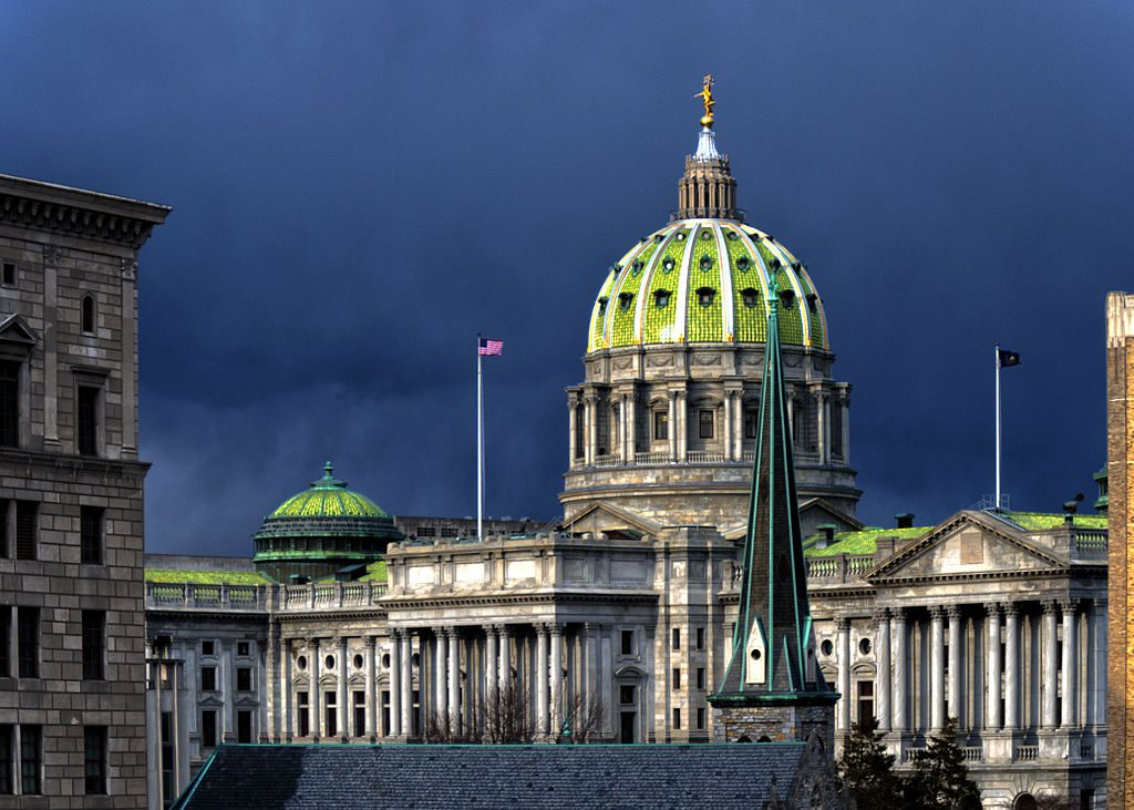 The Pennsylvania House passed a budget proposal that would drastically cut funding to the state's Office of International Development, and completely eliminate the Pennsylvania First grant program. (image courtesy Wikimedia Commons)