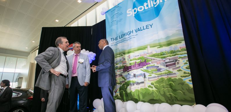 The Lehigh Valley is the subject of a 24-page supplement in American Way, the in-flight magazine for American Airlines.