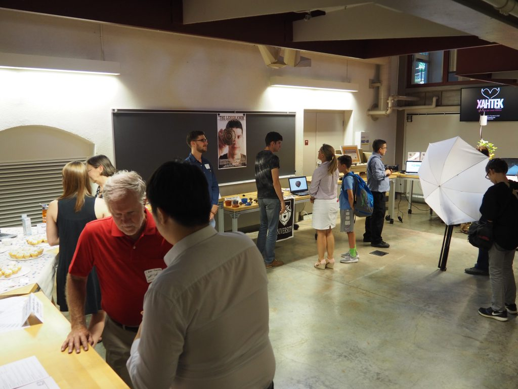 Lehigh University students displayed their products and concepts at the Technical Entrepreneurship Venture Fair earlier this summer.