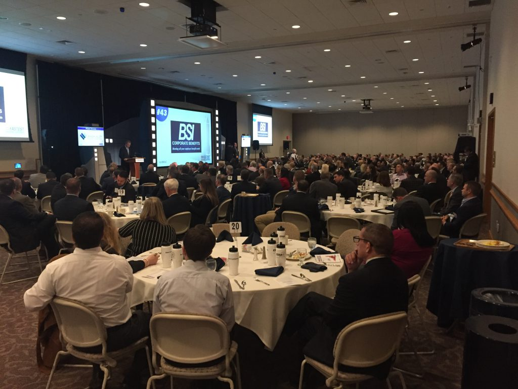 Forty-five businesses were honored at the sixth annual event Lehigh Valley Business Fastest Growing Companies event, which was held at DeSales University in Upper Saucon Township.