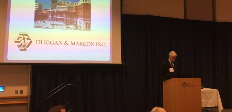 Charles Marcon was recognized as this year's Individual of the Year.