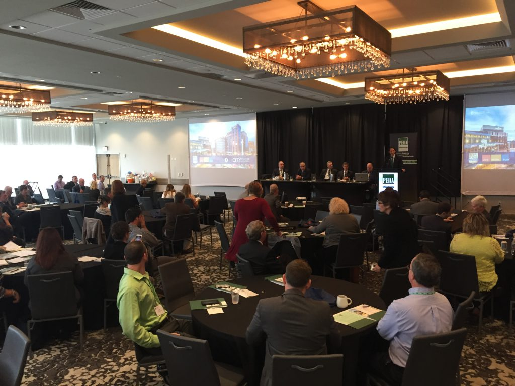 The 2017 Pennsylvania Economic Development Association conference was held at the Renaissance Allentown Hotel.