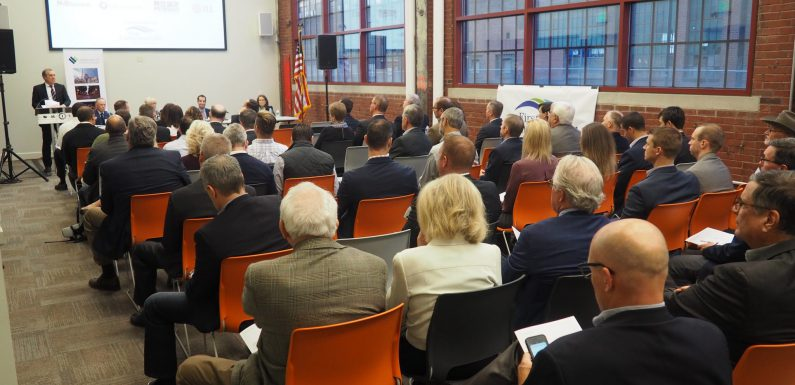 Nearly 100 people attended the panel discussion at the Museum of Industrial History in Bethlehem.