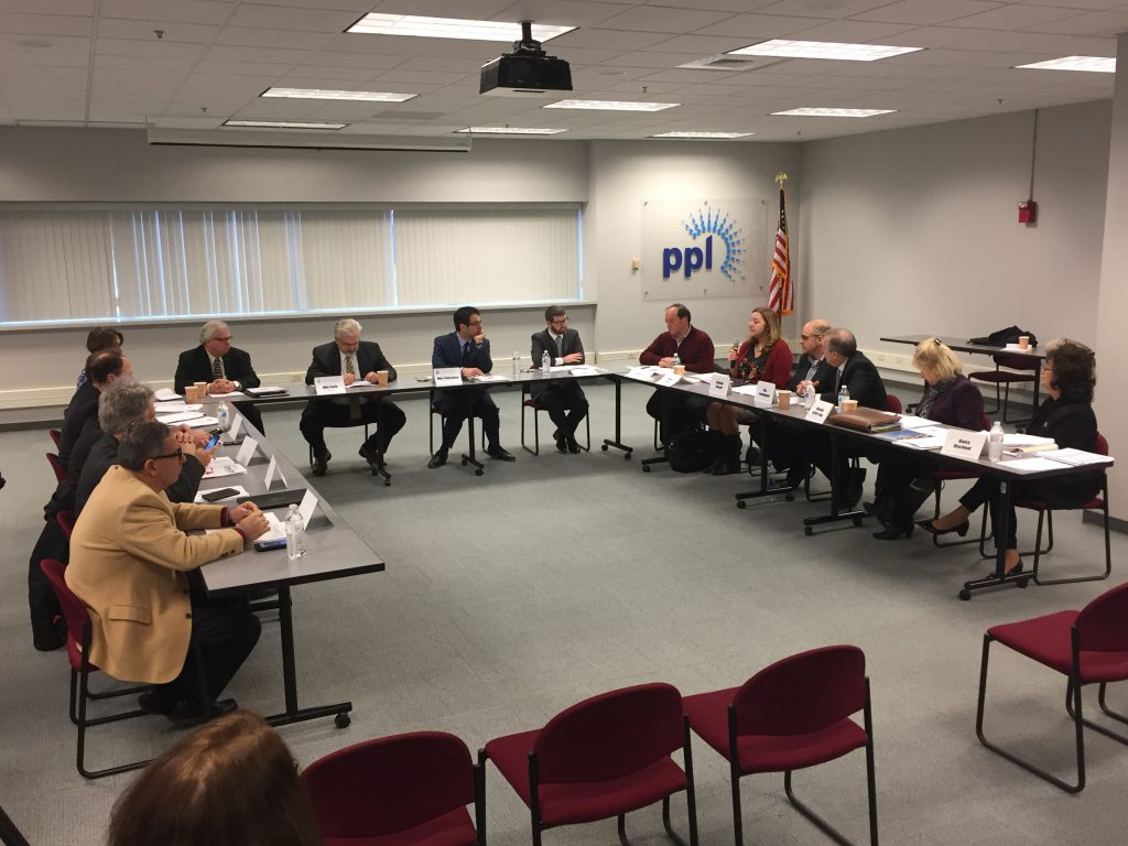 The Pennsylvania Democratic Policy Committee roundtable discussion was held at CareerLink Lehigh Valley in Allentown.