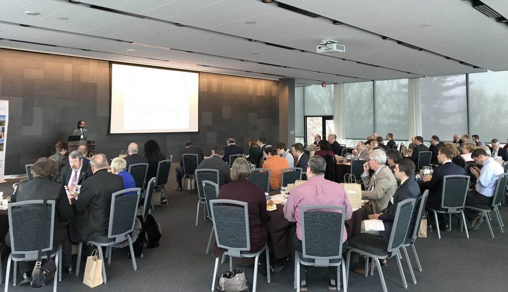 "An event entitled ""Israel-Pennsylvania Joint Venture Opportunities in the Lehigh Valley"" was held at Lehigh University's Iacocca Hall in Bethlehem."