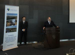 Dani Dayan, Israeli Ambassador and Consul General in New York, spoke at the event.