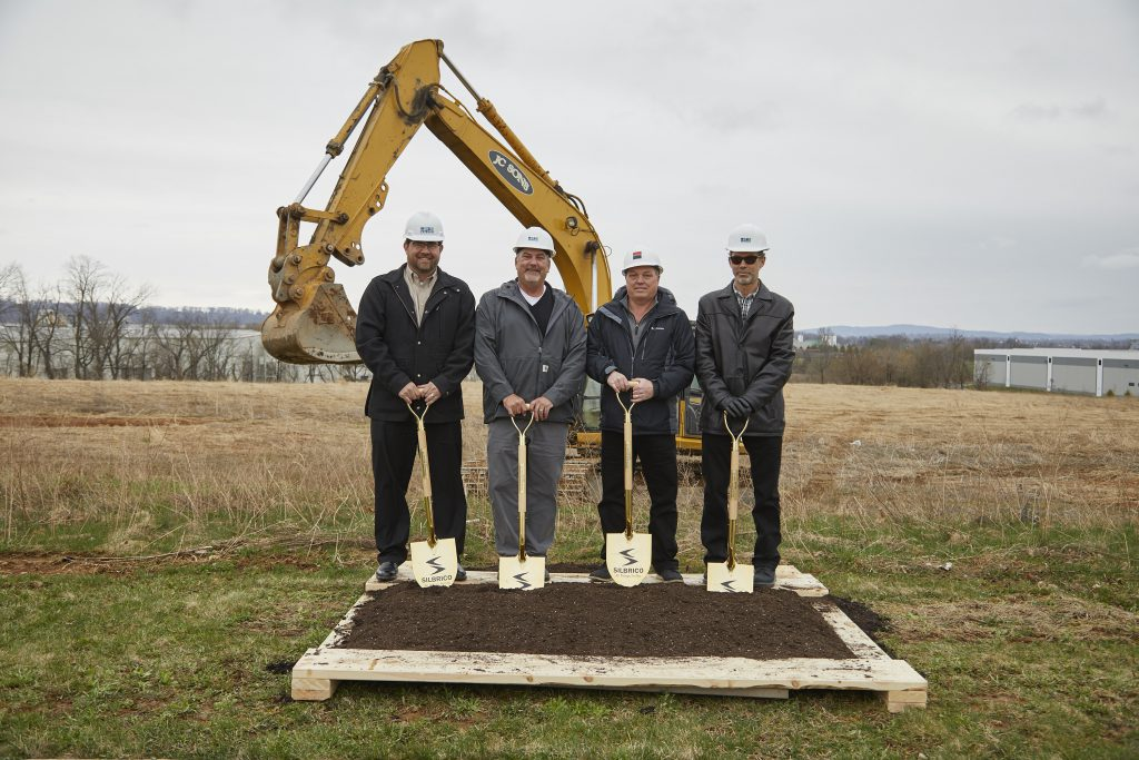 The Silbrico Corporation has announced it has broken ground on a 30,000 square-foot specialized manufacturing facility in Forks Township. (photo courtesy J.G. Petrucci Co.)