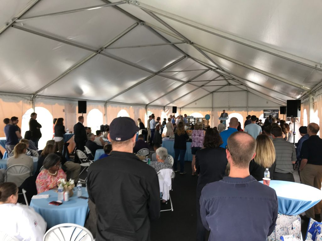 Norac, one of France's largest manufacturer of natural bakery snacks, held inauguration event on May 31 for its facility in Forks Township.