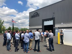 The tour visited the Vastex facility in Lehigh Valley Industrial Park VII in Bethlehem.