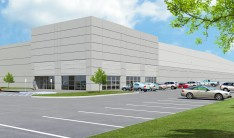 A rendering of one of the buildings at the West Hills Business Center.