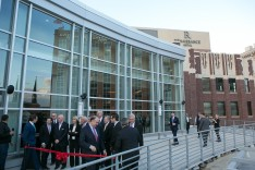 Hundreds attended the ribbon-cutting at the Allentown Renaissance Hotel. (photo courtesy City Center Lehigh Valley)