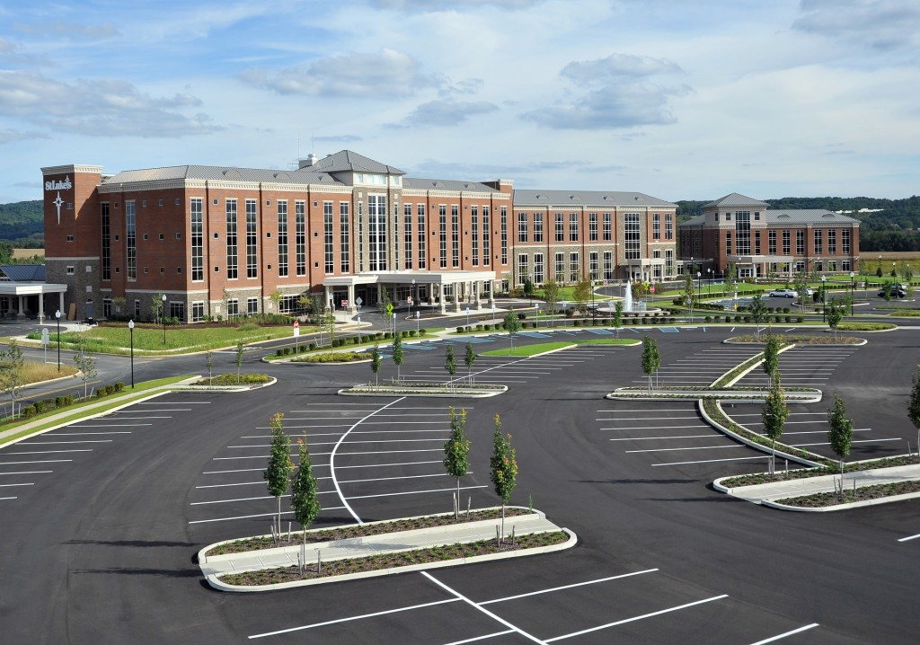 St. Luke's University Hospital has been named one of the 100 best hospitals in the U.S. for three consecutive years.
