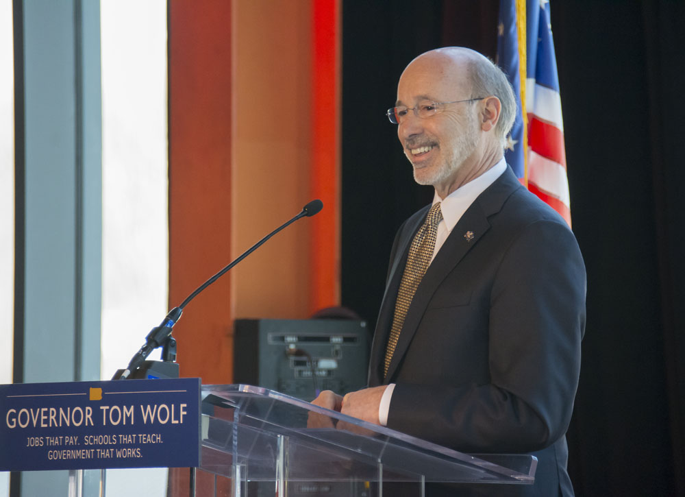 Gov. Tom Wolf and the Pennsylvania Department of Community and Economic Development announced a combined $1.65 million in low-interest loans will be awarded to two Lehigh Valley companies.