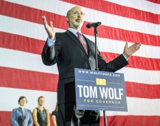 Gov. Tom Wolf will visit the Musikfest Café at the ArtsQuest Center at SteelStacks in Bethlehem to discuss his budget proposal for community and economic development.