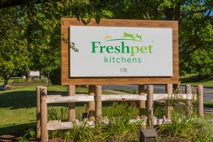 The entrance to the Freshpet Kitchens facility in Hanover Township. (photo courtesy Freshpet)