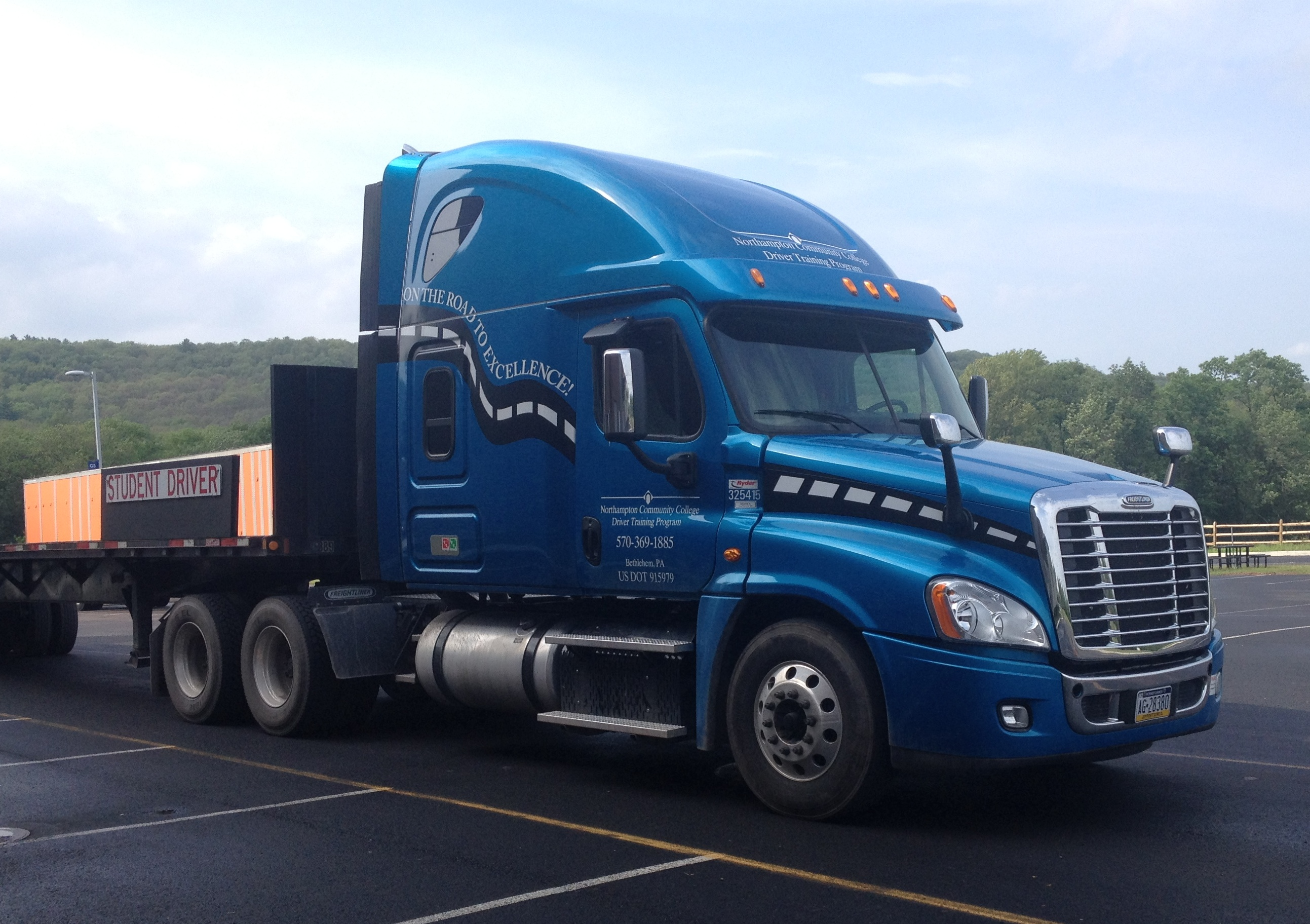 Truck driving programs serve a crucial need in Lehigh Valley