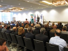 More than 130 people attended the LVEDC Conversation and Cocktails event at the Renaissance Allentown Hotel.