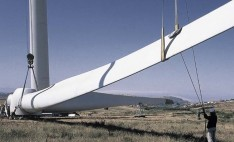 Windkits creates structural core kits for blades used in wind power turbines.
