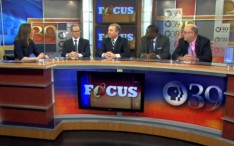 LVEDC President and CEO Don Cunningham (center) appeared in a panel discussion about the state budget on PBS39's FOCUS.