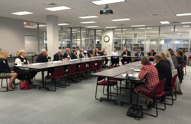 More than two dozen people attended the inaugural LVEDC Education and Talent Supply Council m meeting at the Pennsylvania CareerLink Lehigh Valley.