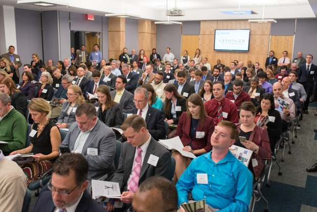 About 250 people attended the 12th Annual Ben Franklin Venture Idol.