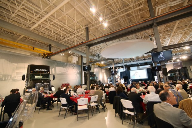 "More than 200 people attended the LVEDC Fall Signature Event: ""Mack Trucks in the Lehigh Valley and in the World."""