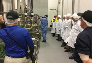 SunOpta held a grand opening ceremony in November for a $25 million addition to its Upper Macungie Township facility.