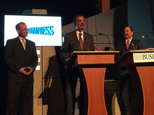 Jay Sidhu, chairman and CEO of Customers Bank, was named Executive of the Year at the Lehigh Valley Business of the Year Awards.
