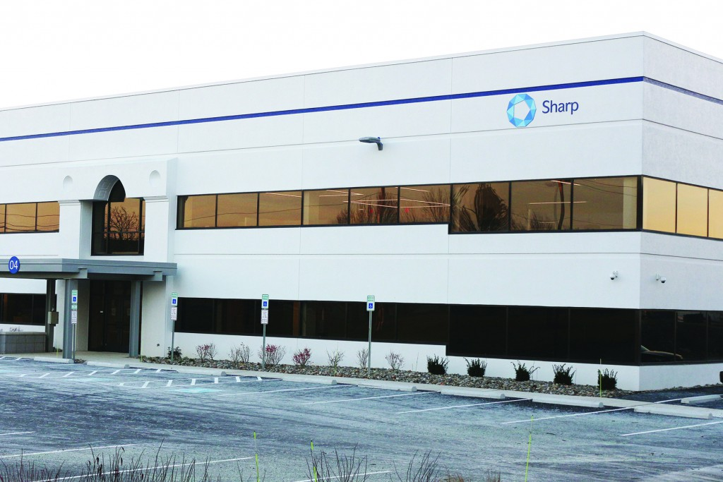 Sharp Packaging Solutions has purchased and renovated a 112,000 square-foot building on Penn Am Drive in Upper Macungie Township.