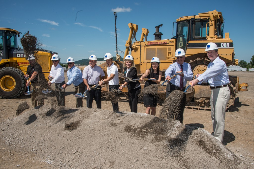 Ecopax held a groundbreaking for its new 144,000 square-foot manufacturing facility in the Lehigh Valley Industrial Park VII in Bethlehem.