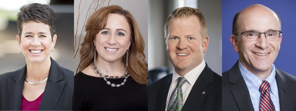 Kassie Hilgert, Silvia Hoffman, Eric Luftig, and Stuart Shaw (respectively) will be joining the LVEDC Board of Directors.