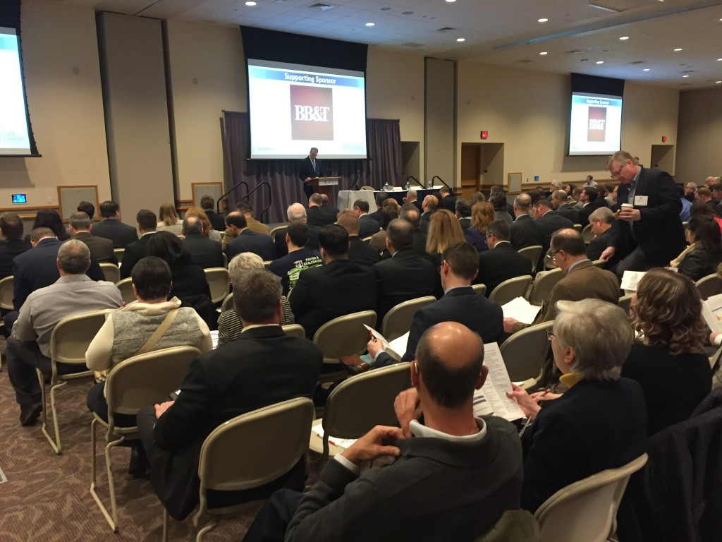 More than 500 people attended the Lehigh Valley Business Real Estate Symposium at DeSales University.