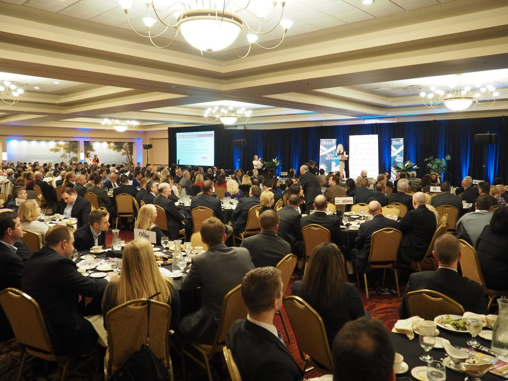 More than 500 people attended the 2017 Lehigh Valley Commercial Real Estate Outlook, hosted by the Greater Lehigh Valley Chamber of Commerce.
