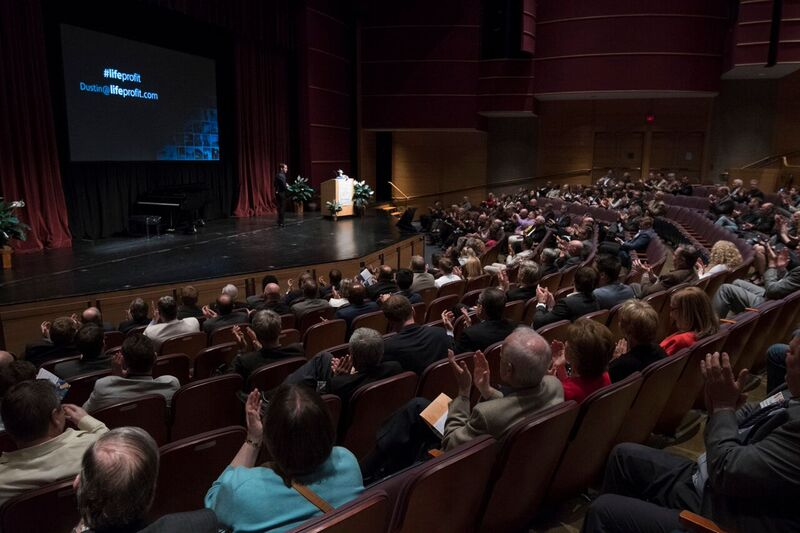 More than 450 people attended the iXchange event at Lehigh University's Zoellner Arts Center in Bethlehem.
