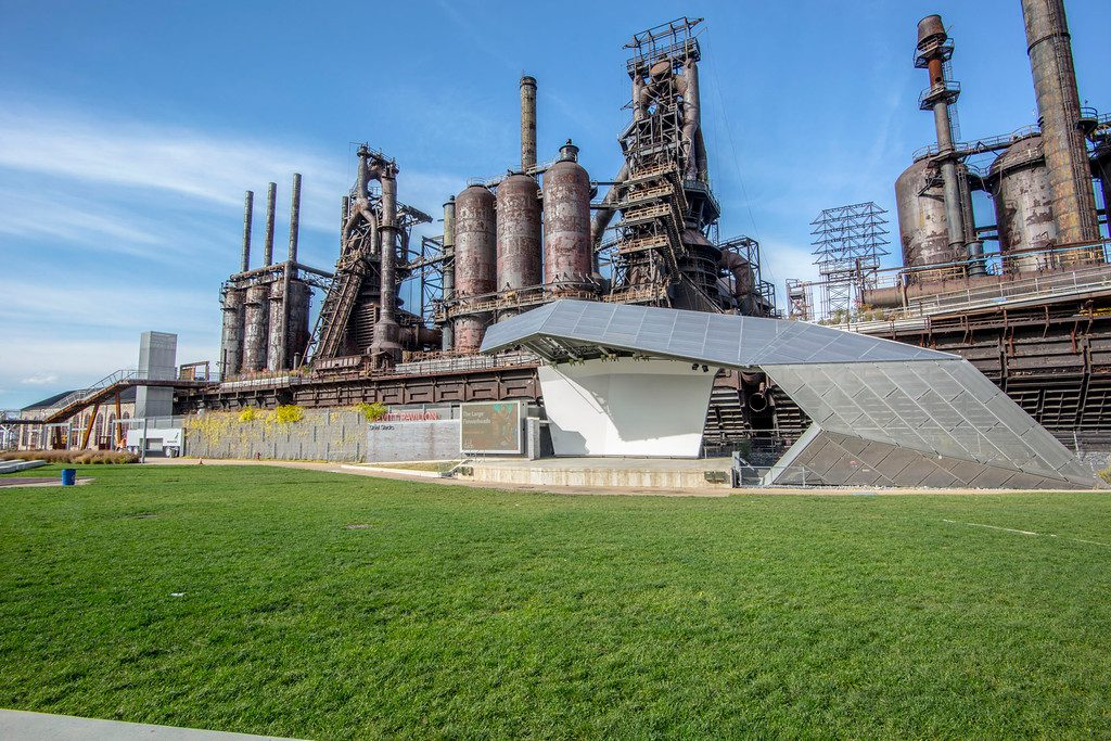 the 10-acre ArtsQuest Center at SteelStacks holds hundreds of concerts and numerous festivals and community events each year