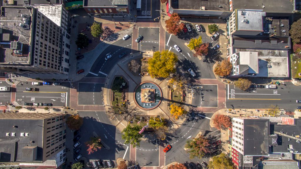The Easton Centre Square. There has been a rebirth and resurgence in the Lehigh Valley's three cities of Allentown, Bethlehem and Easton.