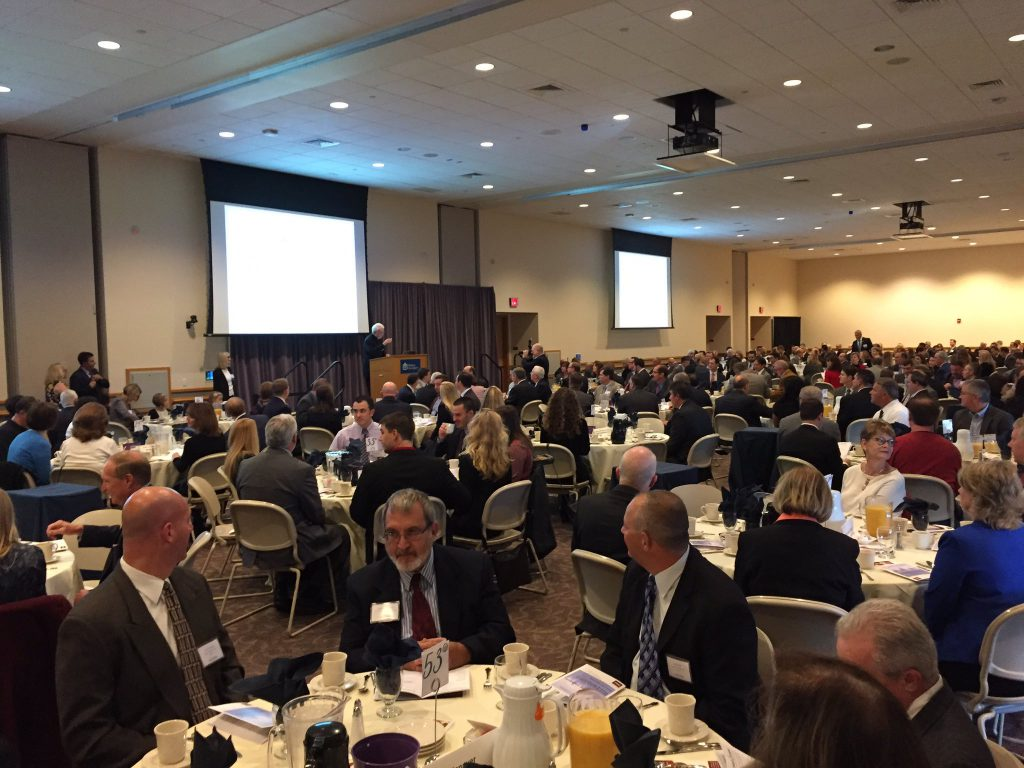 Nearly 500 people attended last year's annual March of Dimes Commercial and Industrial Real Estate Awards at DeSales University Center.