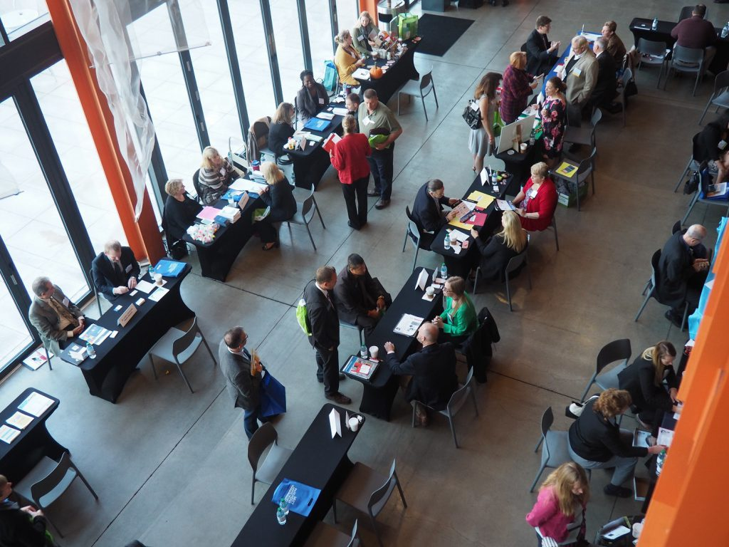 More than 200 people attended the 2017 Meet the Buyers Expo at the ArtsQuest Center at SteelStacks.