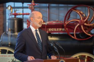 The Manufactugin PA initiative is broken in made up of three new programs, according to Gov. Tom Wolf. (photo by Glenn Koehler/NMIH)