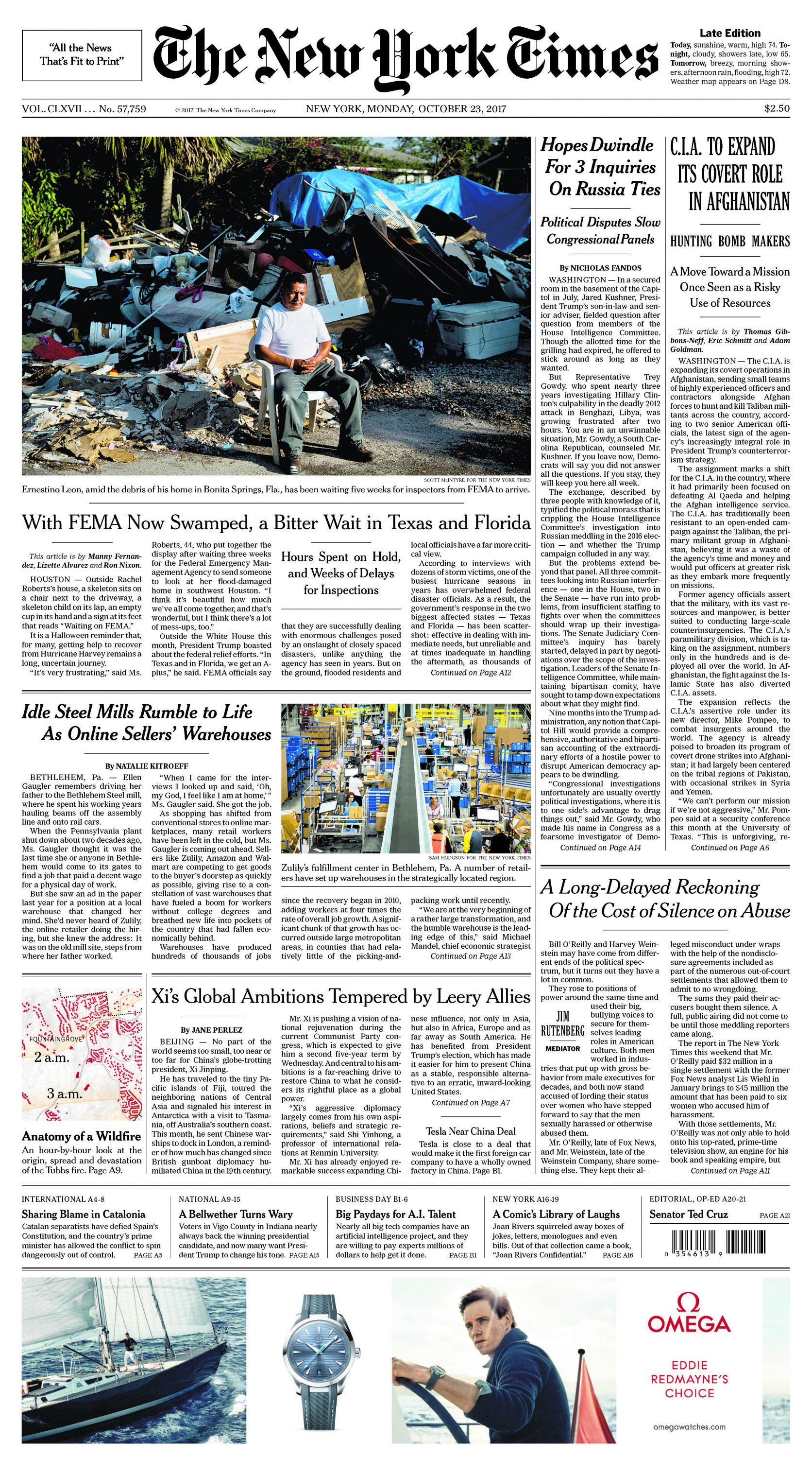 Front Pagenew York Times Design Of: New York Times Story Highlights Lehigh Valley's Booming