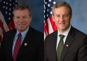 U.S. Reps. Charlie Dent (left) and Matthew Cartwright (right) will host LVEDC's final Conversation & Cocktails event.