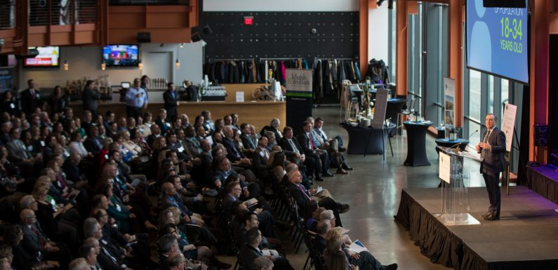 The LVEDC 2018 Annual Meeting at the ArtsQuest Center at SteelStacks in Bethlehem. (photo by Marco Calderon)