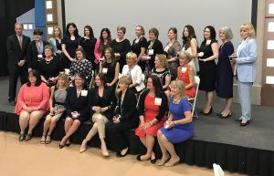 All of the honorees of the 2018 Lehigh Valley Business Women of Influence Awards.